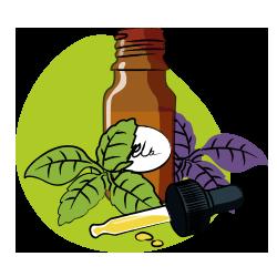 icône aromathérapie - soins et beauté - serenizen