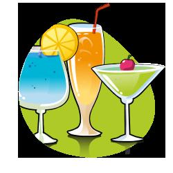 icône cocktails - terroir et menus plaisirs - serenizen