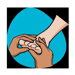 Icône réfléxologie - Massages - Serenizen
