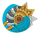 icône mandala - expression artistique - serenizen