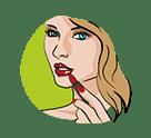 icône maquillage - soins et beauté - serenizen