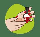 icône ongles - soins et beauté - serenizen