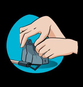 icône sculpture sur argile - serenizen