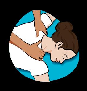 Icône Shiatsu - Massages - Serenizen